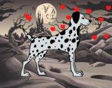 Dibujo Dálmata macho pintado por romanzurge