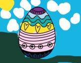 Huevo de Pascua para decorar