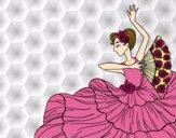 Dibujo Mujer flamenca pintado por DiamondB