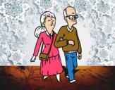 Pareja de abuelos