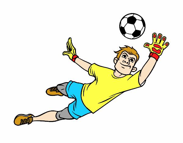 Dibujos De Porteros De Futbol Stunning Futbol Dibujo: Dibujo De FRANCISCO Pintado Por En Dibujos.net El Día 12