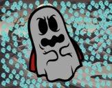 Dibujo Fantasma asustado  pintado por matimanent