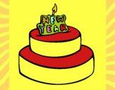 Dibujo Pastel de año nuevo pintado por matimanent