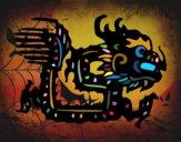 Dibujo Signo del dragón pintado por matimanent