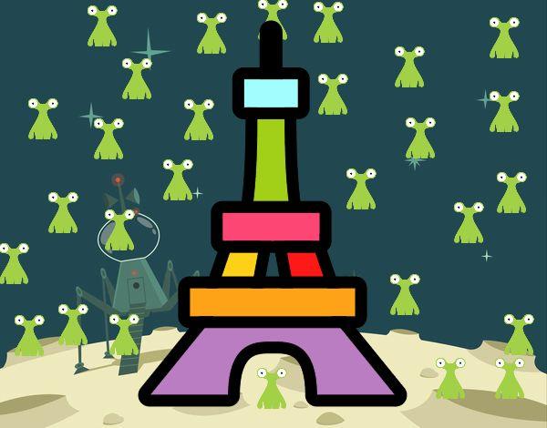 Dibujos De Marcianos Para Colorear: Dibujo De Marcianos Pintado Por En Dibujos.net El Día 18