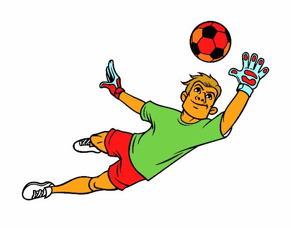 Dibujos De Porteros De Futbol Stunning Futbol Dibujo: Dibujos De Porterias De Futbol Para Colorear