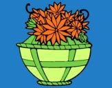 Cesta de flores 11