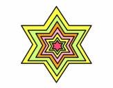Dibujo Estrella 2 pintado por tani20