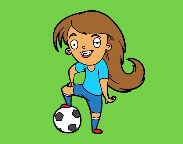 Dibujo De Futbol Pintado Por Maarta En Dibujos Net El Día