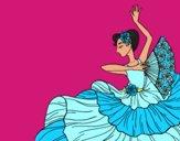 Mujer flamenca
