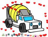 Camión malaxador