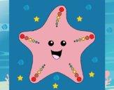 Dibujo Estrella de mar 1 pintado por nuri17