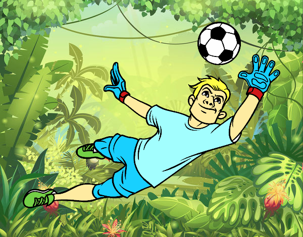 Dibujos De Porteros De Futbol Stunning Futbol Dibujo