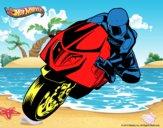 Dibujo Hot Wheels Ducati 1098R pintado por livet