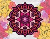 Dibujo Mandala vida vegetal pintado por SofiaLH