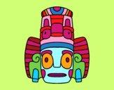 Máscara mexicana de rituales