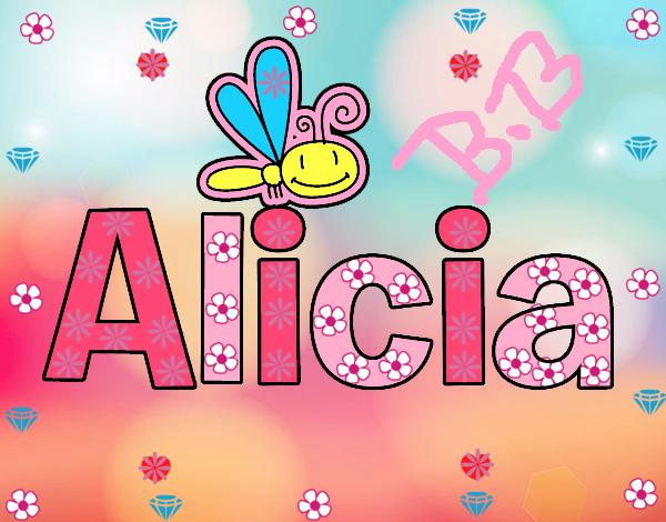 Dibujos Para Colorear Alicia 16: Dibujo De Alicia Pintado Por En Dibujos.net El Día 26-09