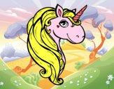 Dibujo Un unicornio pintado por lunamaria