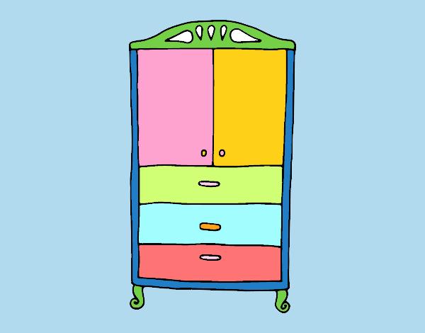 Armario Aberto Para Quarto ~ Dibujo de Armario para la ropa pintado por en Dibujos net el día 21 10 16 a las 17 36 48