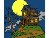 Dibujo Casa encantada pintado por guemes364