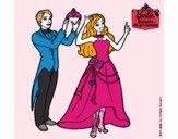 Un amigo de Barbie le corona
