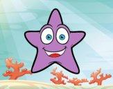 Estrella de mar sonriente