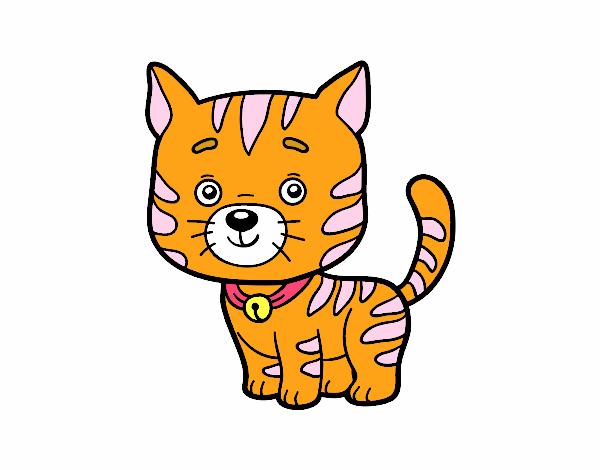 Dibujo de el gato en casa pintado por en el - El gato en casa ...