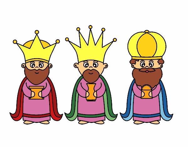 Dibujos Para Colorear De Los Tres Reyes Magos: Los Tres Reyes Magos Dibujos. Cheap Dibujos Para Colorear