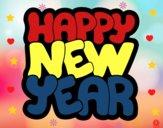 Dibujo Feliz año nuevo pintado por Plimboo503