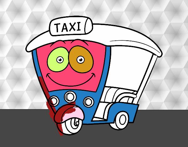 Dibujo de Moto  Taxi pintado por en Dibujosnet el da 021216 a