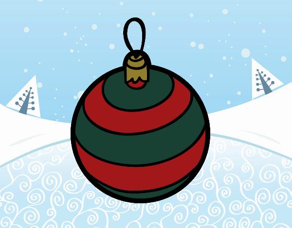 Dibujo de esfera pintado por en el d a 28 11 - Bola arbol navidad ...
