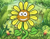 Flor animada
