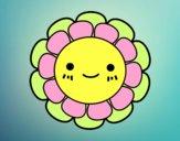 Dibujo Florecita infantil pintado por sheyla9