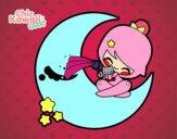 Dibujo Luna Kawaii pintado por sheyla9