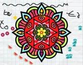 Dibujo Mandala vida vegetal pintado por sheyla9