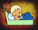Dibujo Hora de ir a dormir pintado por Milu_01