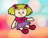 Dibujo Muñeca de juguete pintado por KEYSI