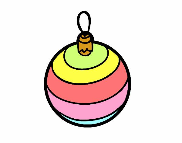 Dibujo de una bola de rbol de navidad pintado por - Bola arbol navidad ...