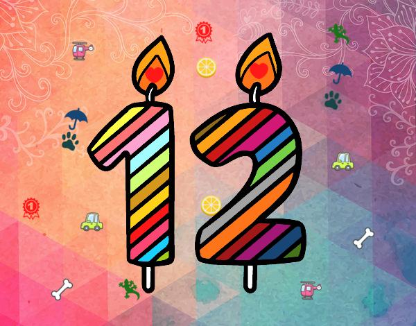 Dibujo de 12 a os pintado por en el d a 04 01 - Fiesta cumpleanos 8 anos ...