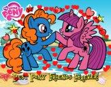 Dibujo Mejores Pony Amigas para siempre pintado por josephin