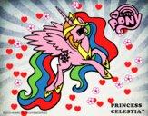 Dibujo Princess Celestia pintado por josephin