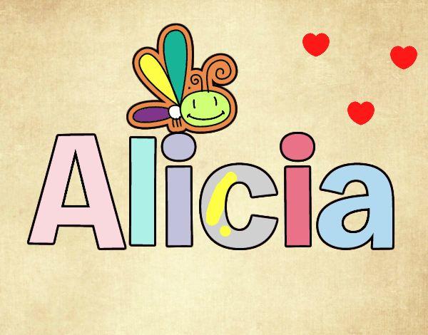 Dibujos Para Colorear Alicia 16: Dibujo De Alicia Pintado Por En Dibujos.net El Día 18-01