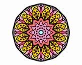 Dibujo Mandala naturaleza pintado por Orianalas