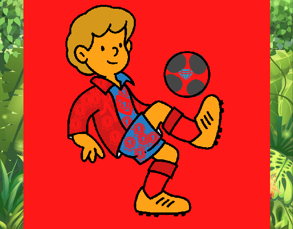 Dibujo De Fútbol Pintado Por Fustapa13 En Dibujos Net El: Dibujo De Fútbol Pintado Por En Dibujos.net El Día 29-01