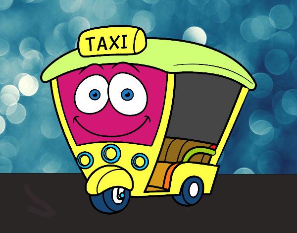 Dibujo de Moto  Taxi pintado por en Dibujosnet el da 230117 a