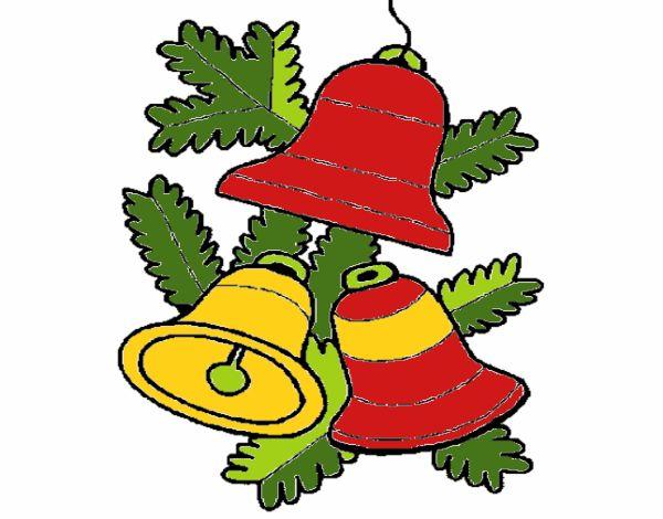 3 campanas de navidad