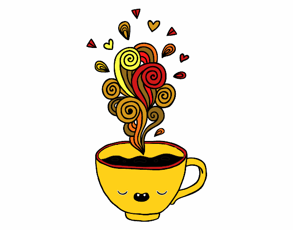 Taza De Cafe Dibujo - Unifeed.club