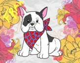 Dibujo Bulldog francés pintado por kiu89