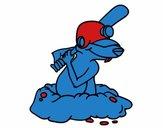 Topo bateador