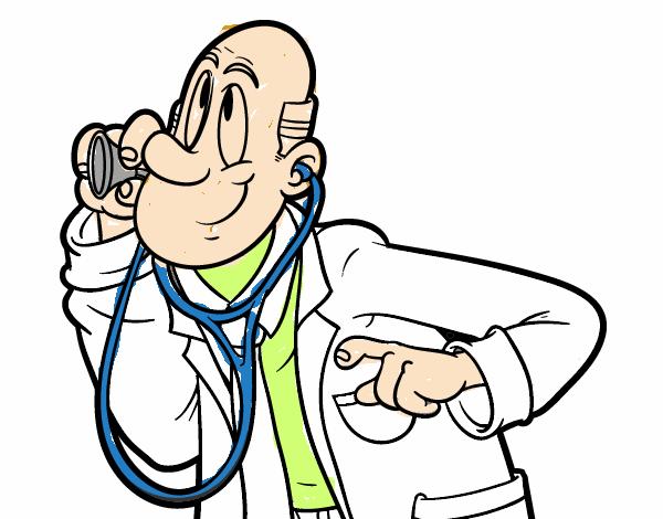 Dibujos De Medicos Para Colorear E Imprimir: Dibujo De Médico Pintado Por En Dibujos.net El Día 14-03